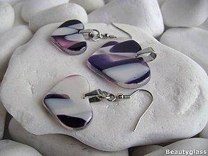 Sady šperkov - Tri srdiečka - 10942493_