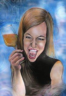 Kresby - Veselá-karikatúra - 10941958_
