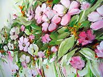 Obrazy - Kvety v dúhe II - 10941567_