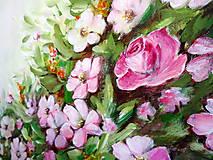 Obrazy - Kvety v dúhe II - 10941568_