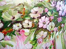 Obrazy - Kvety v dúhe II - 10941569_