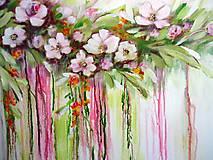 Obrazy - Kvety v dúhe II - 10941572_