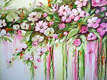 Obrazy - Kvety v dúhe II - 10941574_