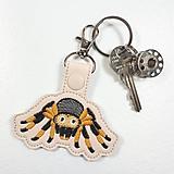 Kľúčenky - Prívesok tarantula - 10941785_