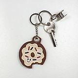 Kľúčenky - Prívesok donut - 10941865_