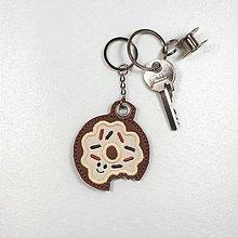 Kľúčenky - Prívesok donut - 10941878_