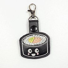Kľúčenky - Prívesok sushi maki - 10941953_