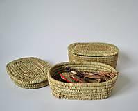 Dekorácie - RUSTIK Prútená šperkovnica (Doprava zadarmo) - 10942446_