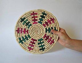 Pomôcky - Africký závesný kruh na stenu (African Trivet) - 10942300_