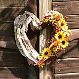 Dekorácie - Drevené spomienkové srdce - 10942475_
