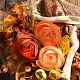 Dekorácie - Drevené spomienkové srdce - 10942647_