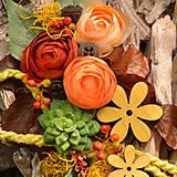 Dekorácie - Drevené spomienkové srdce - 10942957_