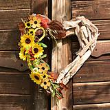 Dekorácie - Drevené spomienkové srdce - 10942974_