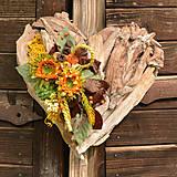 Dekorácie - Drevené spomienkové srdce - 10942984_
