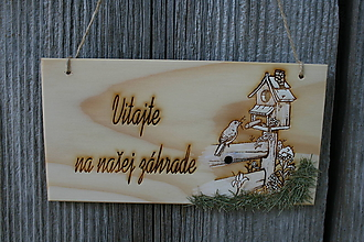 """Tabuľky - tabuľka""""Vitajte31"""" - 10942644_"""
