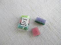 Mini hubky na riad - balíček 3 kusy