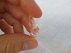 Hračky - Mini šumivé bomby do kúpeľa pre Barbie (Biela) - 10943145_