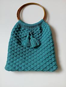 Nákupné tašky - Pletené tašky - 10942806_