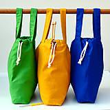 Iné tašky - Taška kráľovsky modrá so staroružovou ~ tvoritaška + nákupná - 10943067_