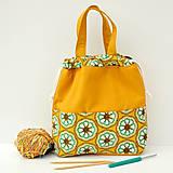 Iné tašky - Taška háčkovaný vzor ~ tvoritaška + nákupná - 10943294_