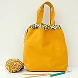 Iné tašky - Taška háčkovaný vzor ~ tvoritaška + nákupná - 10943295_