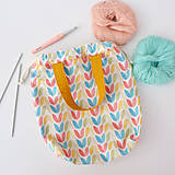 Iné tašky - Taška pastelové tulipány ~ tvoritaška + nákupná - 10943304_