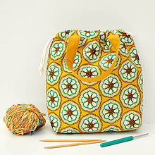 Iné tašky - Taška háčkovaný vzor ~ tvoritaška + nákupná - 10943291_