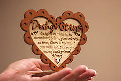 Dekorácie - Poďakovanie rodičom I. (Drahý Ocino) - 10943138_