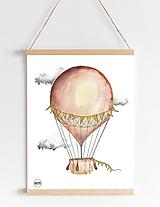 Art Print - béžový balón