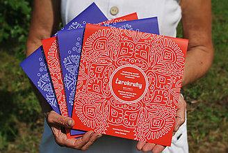 Knihy - Folklórne mandaly -knižka vzorov - Čarokruhy, 2 ks so zľavou - 10942145_