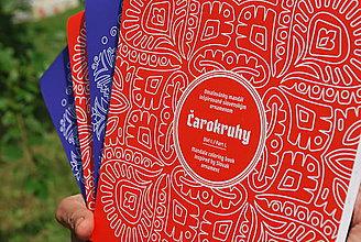 Knihy - Folklórne mandaly - knižka vzorov - Čarokruhy, 4 ks so zľavou - 10942195_