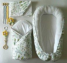 Textil - Set pre bábätko - lúčne kvety - 10945597_