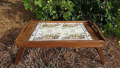 """Nádoby - Servírovací stolík """"Jardin de Paris"""" - 10945033_"""
