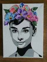 Obrazy - 3D kvetovana Audrey - 10945623_