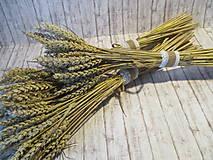 Dekorácie - Kytička pšenice - 10945375_
