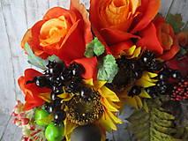 Dekorácie - Jesenný veniec - 10945625_