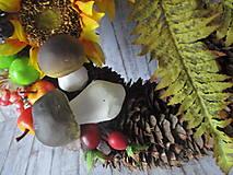 Dekorácie - Jesenný veniec - 10945630_