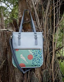 Veľké tašky - Basic - Zipp - S vtákmi - 10945440_