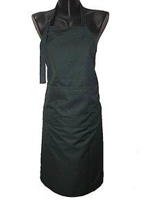 Iné oblečenie - Kuchárska alebo čašnická zásterka cez krk - 10944684_