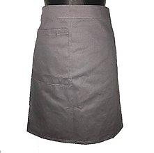 Iné oblečenie - Kuchárska alebo čašnícka zásterka - 10944816_