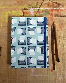 Papiernictvo - Zápisník A5 linajkový - spisovateľský - 10944101_