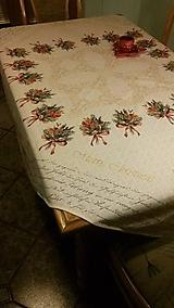 Úžitkový textil - Obrus Merry Christmas - 7576300_