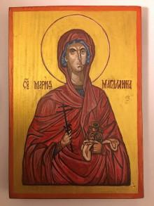 Obrazy - Ručne písaná ikona Márie Magdalény - 10945526_