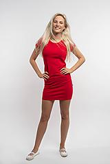 Šaty - Dámske šaty Sofia Red KR - 10944787_