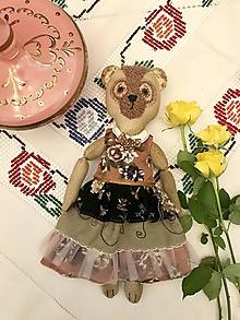 Hračky - Medvedica Ružička Levanduľová - 10944706_