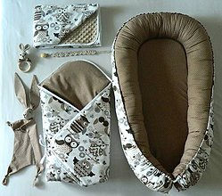 "Textil - set pre bábätko ""Sova"" - 10946283_"