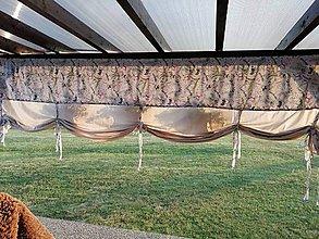 Úžitkový textil - Závesy /Španielska roleta pod prístrešok alebo altánky - 10945957_