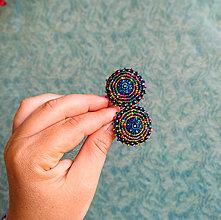 Náušnice - Melange earrings n.7 - vyšívané náušnice - 10947598_