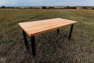 Nábytok - Dubový jedálenský stôl - 10946957_