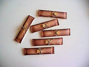 Darčeky pre svadobčanov - svadobná žuvačka s patinou - 10946104_